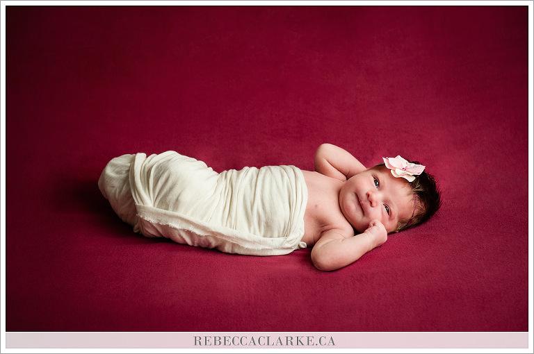 Newborn baby Alice