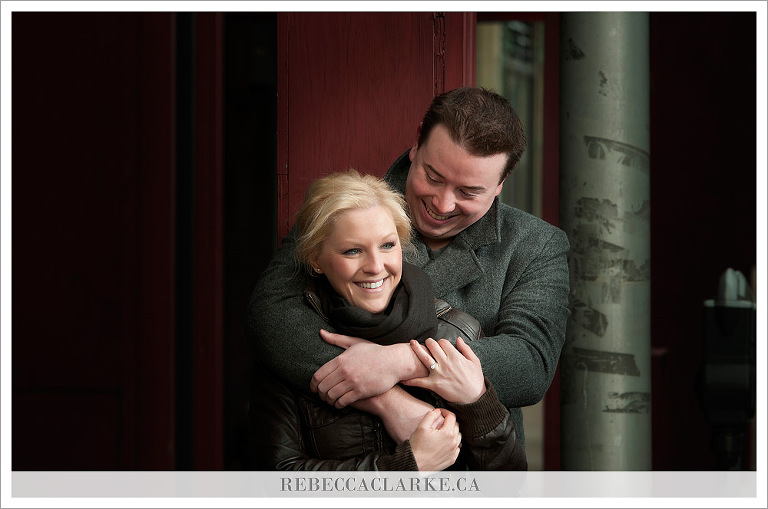 Agata & Ryan - Red Pillar