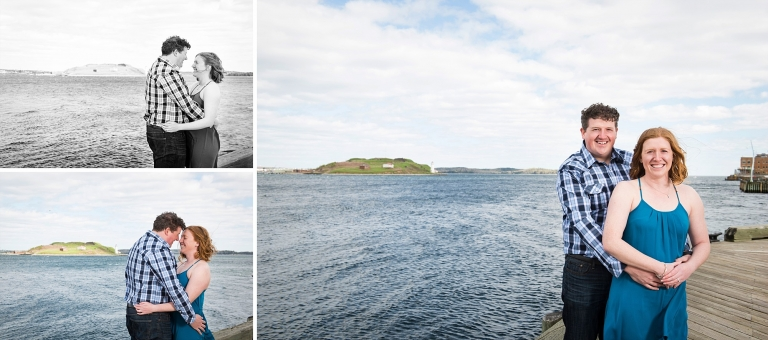 Halifax waterfront engagement session