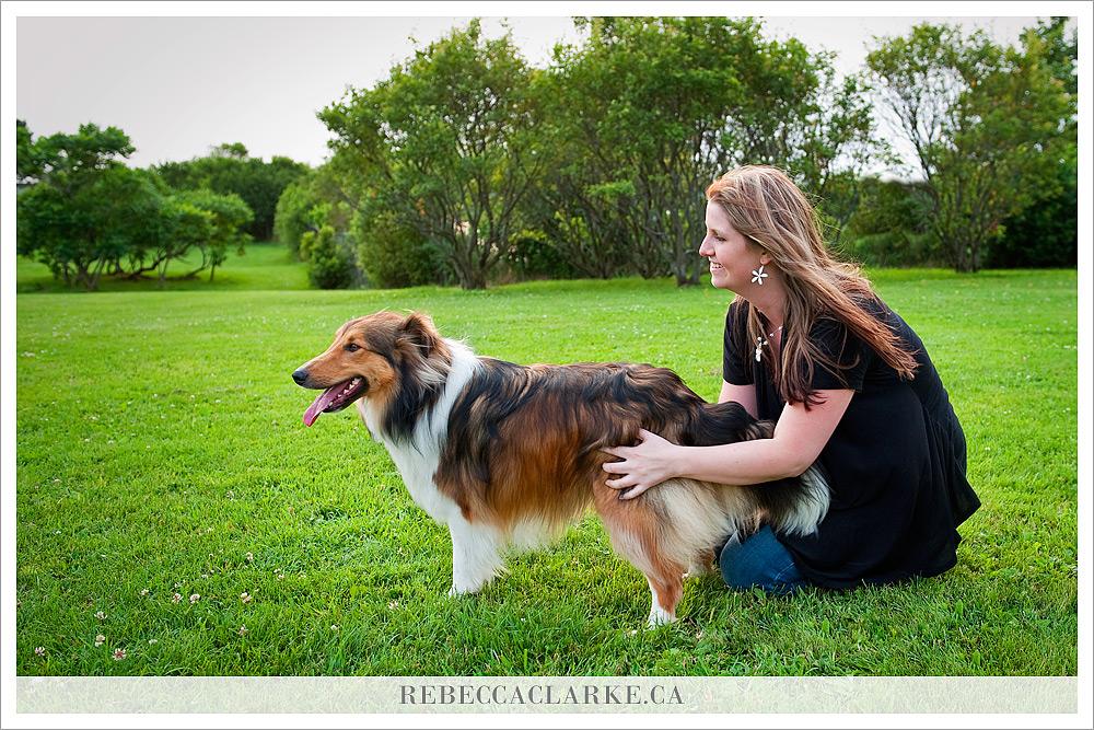 Ben Dog Sheltie Park 02