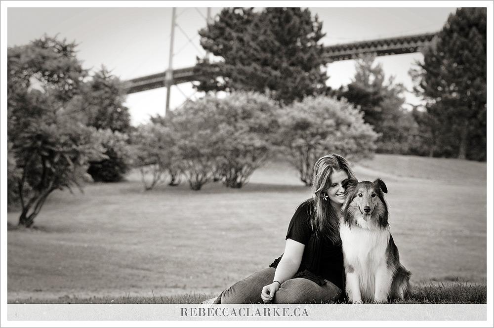 Ben Dog Sheltie Park 05
