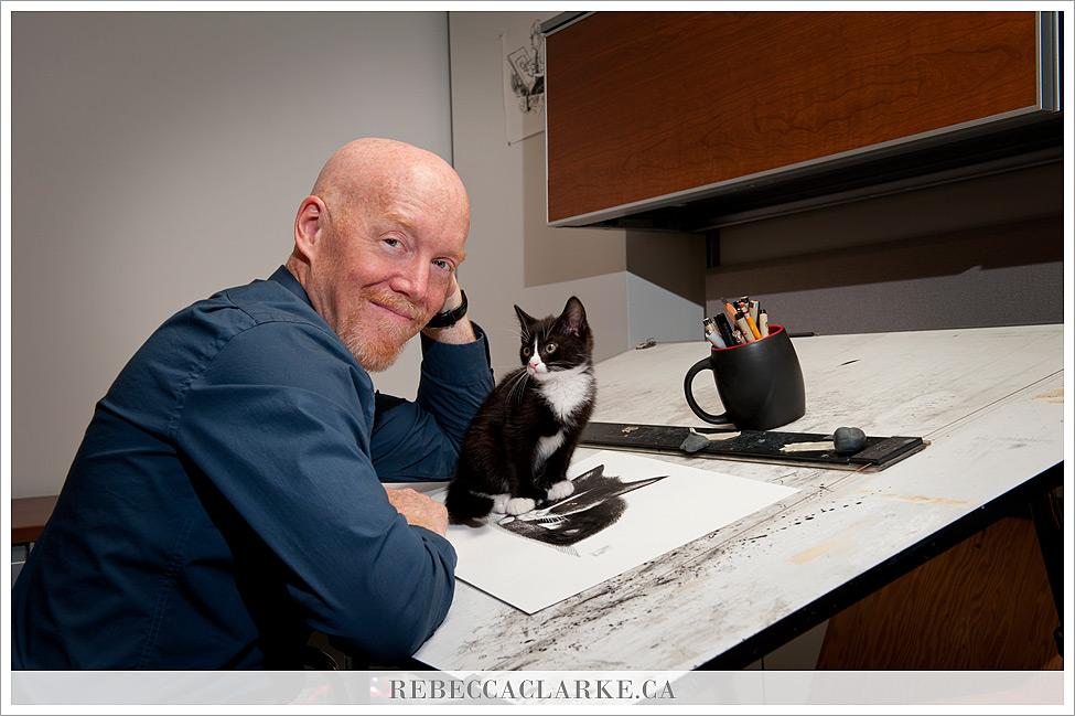 Bruce and Kitten
