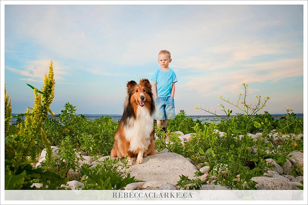 Colton and Jake Kids & Pups 04
