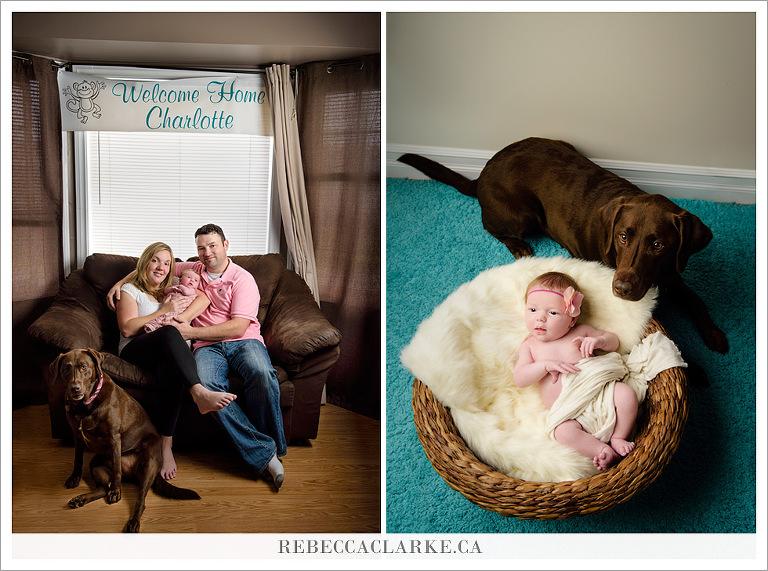 Newborn baby Charlotte
