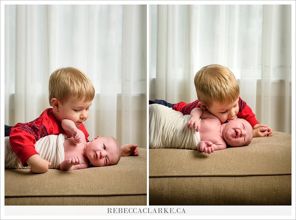 Newborn baby Clara