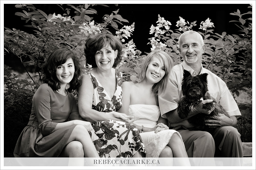 Daphne, Bruce, Maddy, and Leah family photography