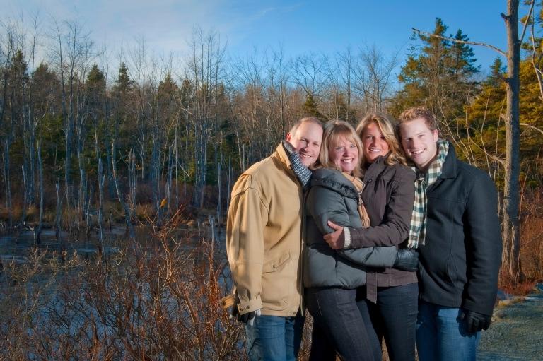 Shubie park Dartmouth family photo session