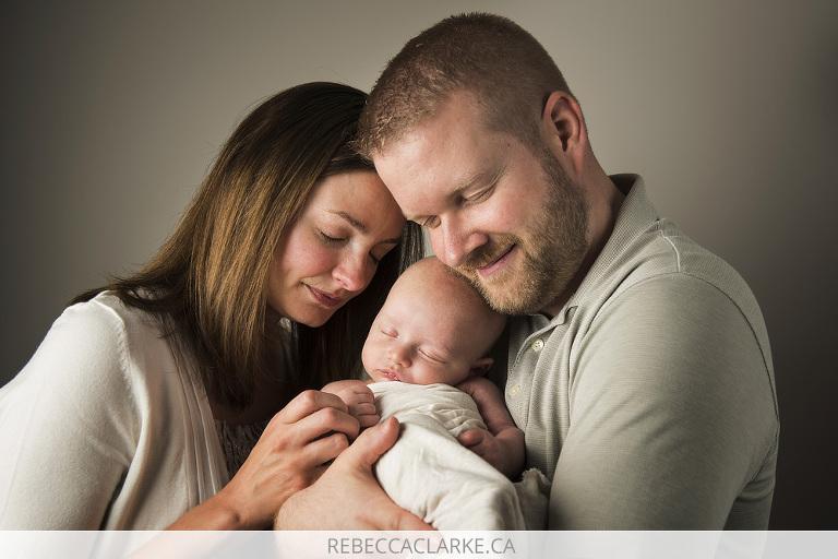 Newborn baby Freddie