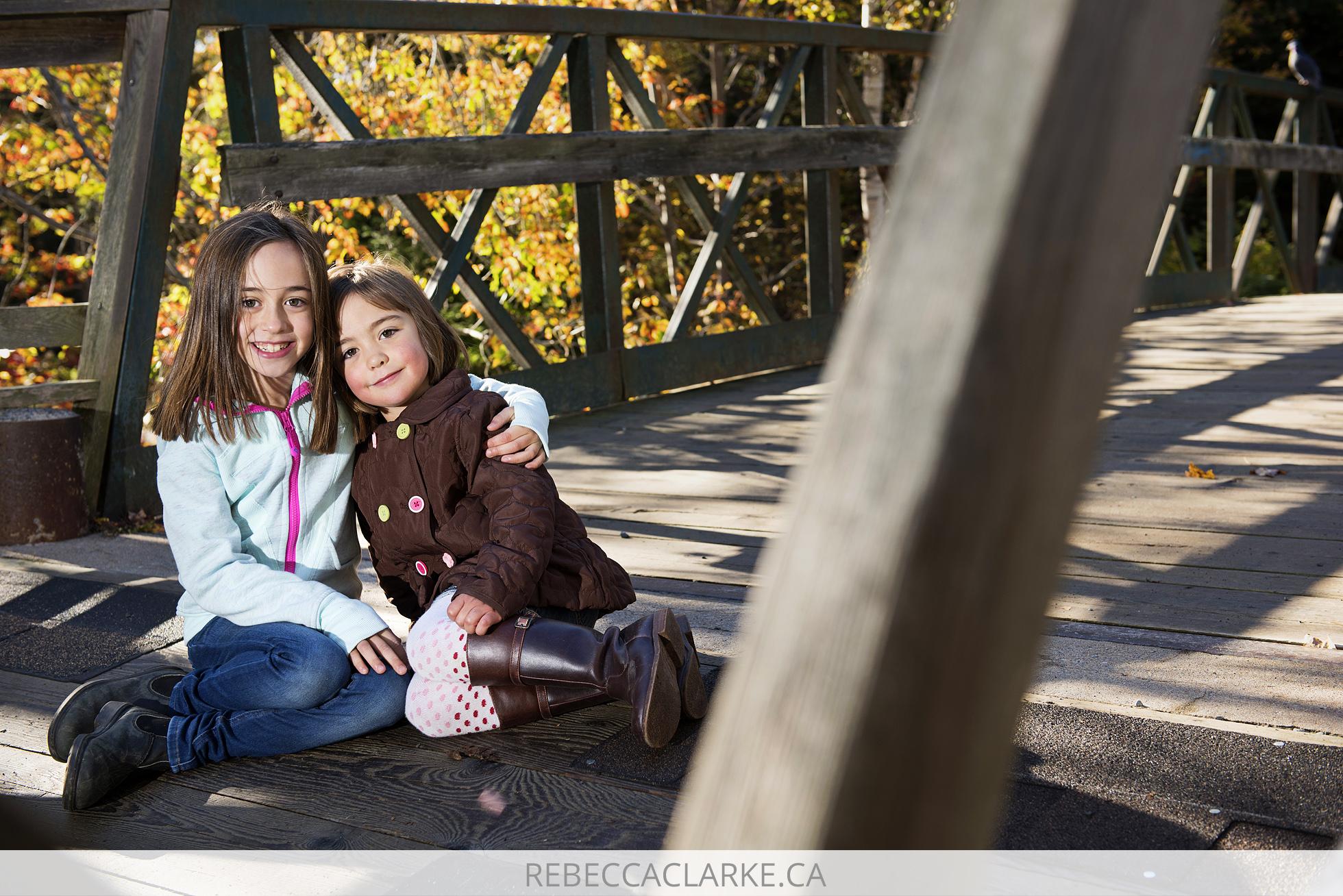 Family photos at Shubie Park in Dartmouth