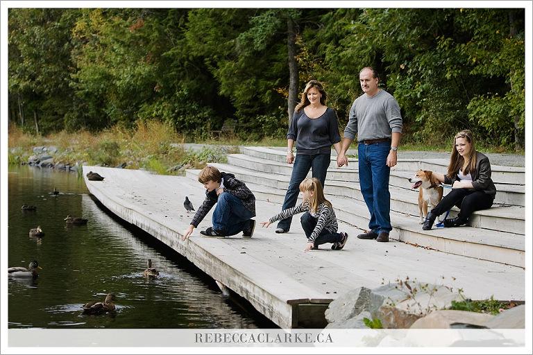 Ingram Chambers Family - ducks