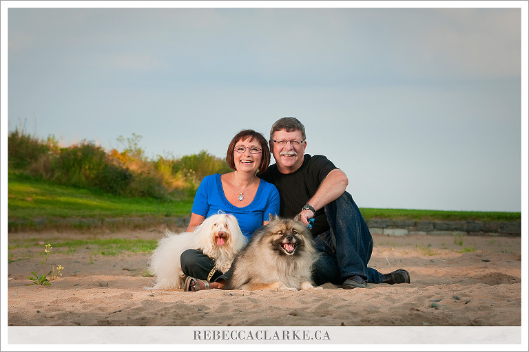 Jane & Donnie + dogs 01