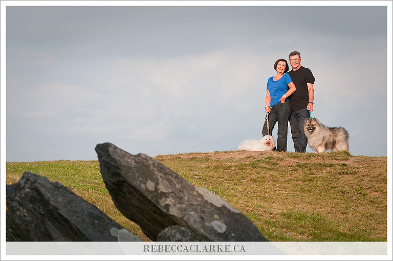 Jane & Donnie + dogs 02