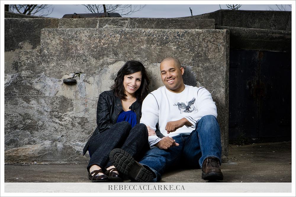 Engagement photos in Nova Scotia