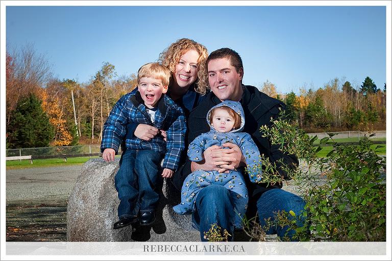 Johnson Family at the park