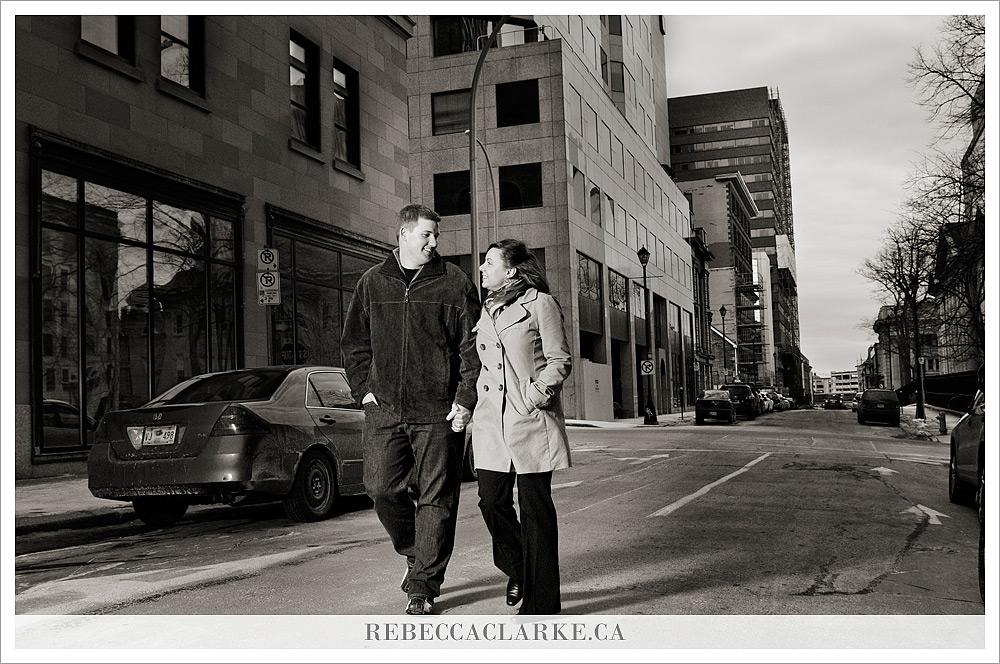 Logan & Tara downtown 03