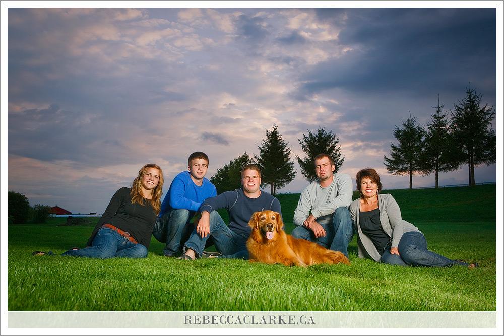 White Family photo