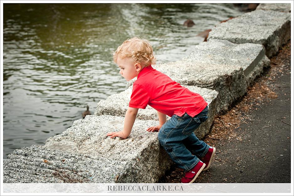 Finn photos on the water