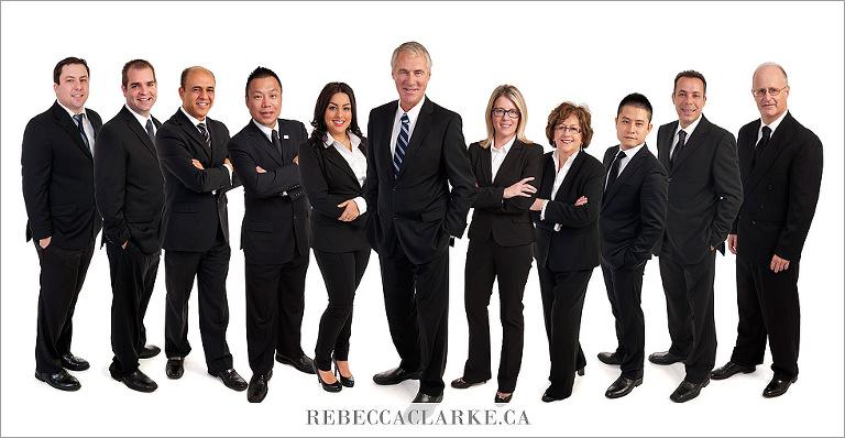 Group photo business portraits